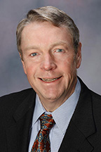 Photo of Earnie Lehman, past president of Midwest Energy.