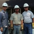 Nate Harter, Line Foreman at Colby, and Ben Jaeger and Mason Newell, Journeyman Linemen at Colby, were among 22 Midwest Energy linemen who helped to restore power in Wichita June 28th-July 2nd.